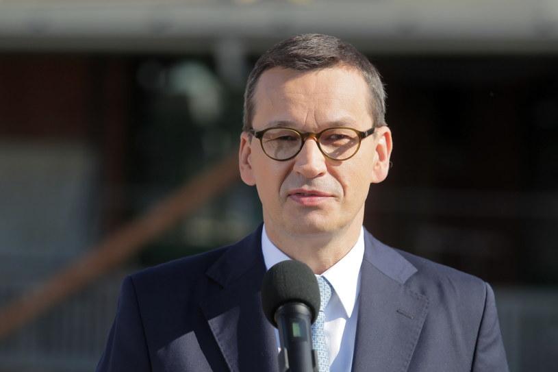 Premier Mateusz Morawiecki / Tomasz Waszczuk    /PAP