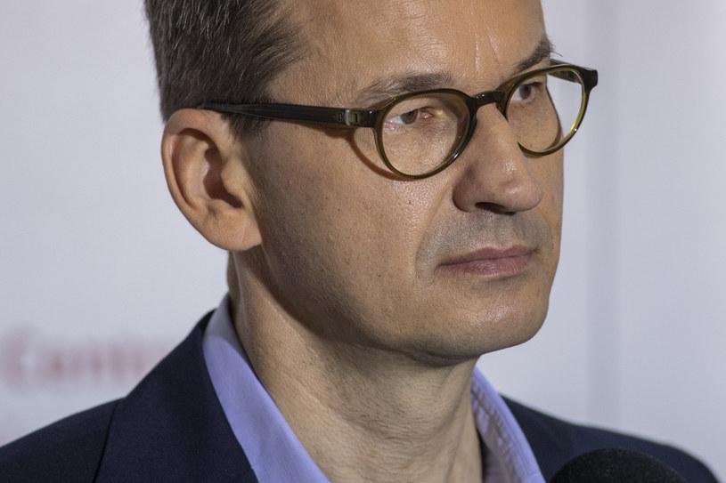 Premier Mateusz Morawiecki /Grzegorz Bukala/REPORTER /Reporter