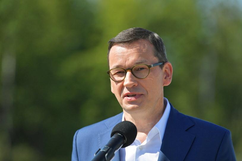 Premier Mateusz Morawiecki /Przemysław Piątkowski /PAP