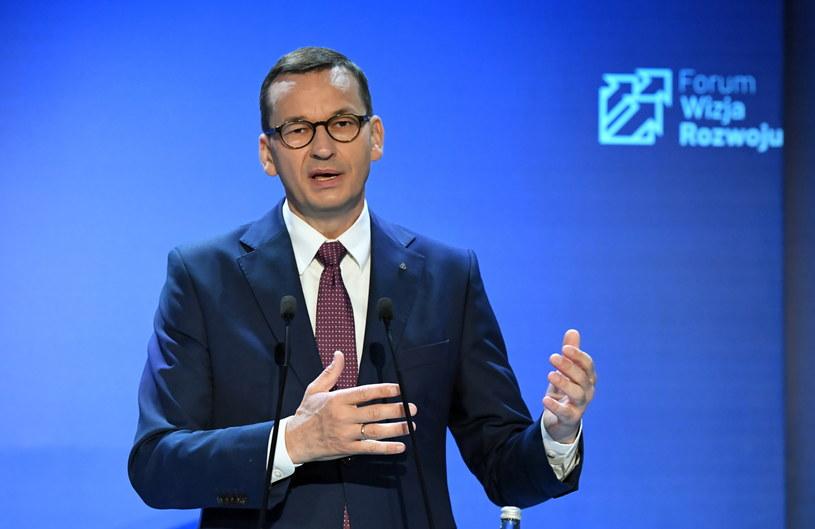 Premier Mateusz Morawiecki / Adam Warżawa    /PAP
