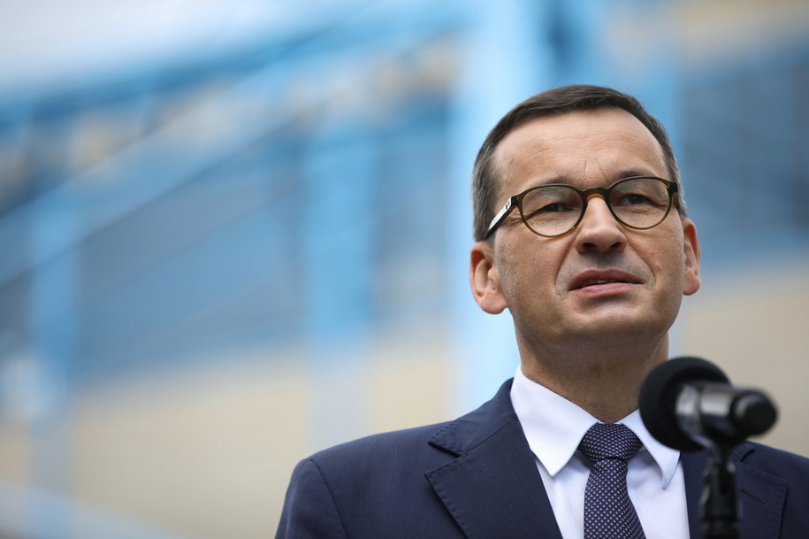Premier Mateusz Morawiecki /PAP/Łukasz Gągulski /PAP