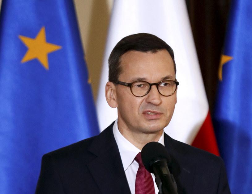 Premier Mateusz Morawiecki /Piotr Małecki /East News
