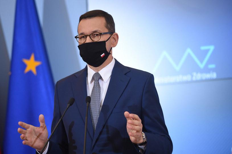 Premier Mateusz Morawiecki /Zbyszek Kaczmarek/REPORTER /Reporter