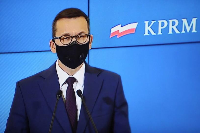 Premier Mateusz Morawiecki /Leszek Szymański /PAP