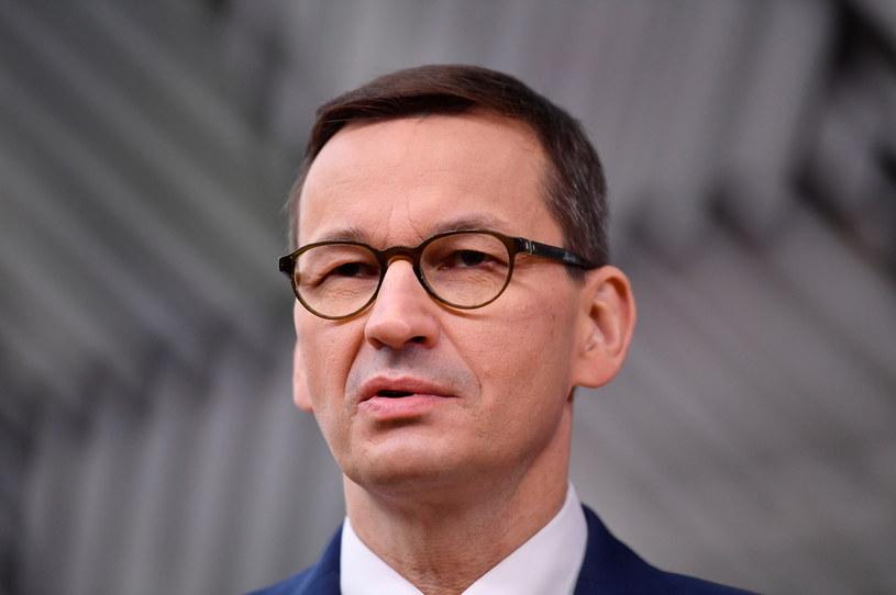 Premier Mateusz Morawiecki /Reuters /Agencja FORUM