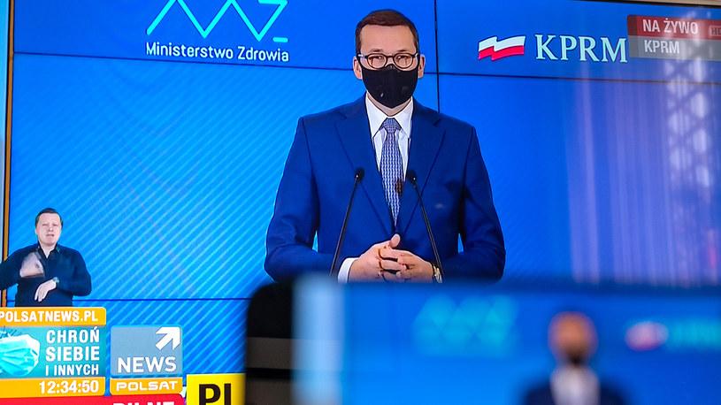 Premier Mateusz Morawiecki /Paweł Krawczyk /INTERIA.PL