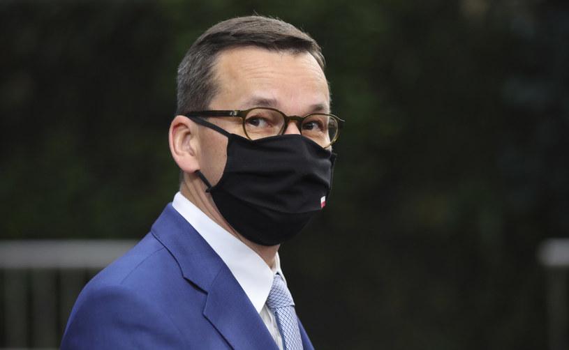 Premier Mateusz Morawiecki /AFP