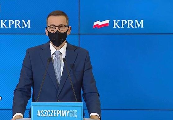 Premier Mateusz Morawiecki. /INTERIA.PL