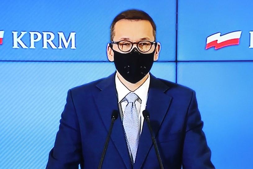 Premier Mateusz Morawiecki / Albert Zawada /PAP
