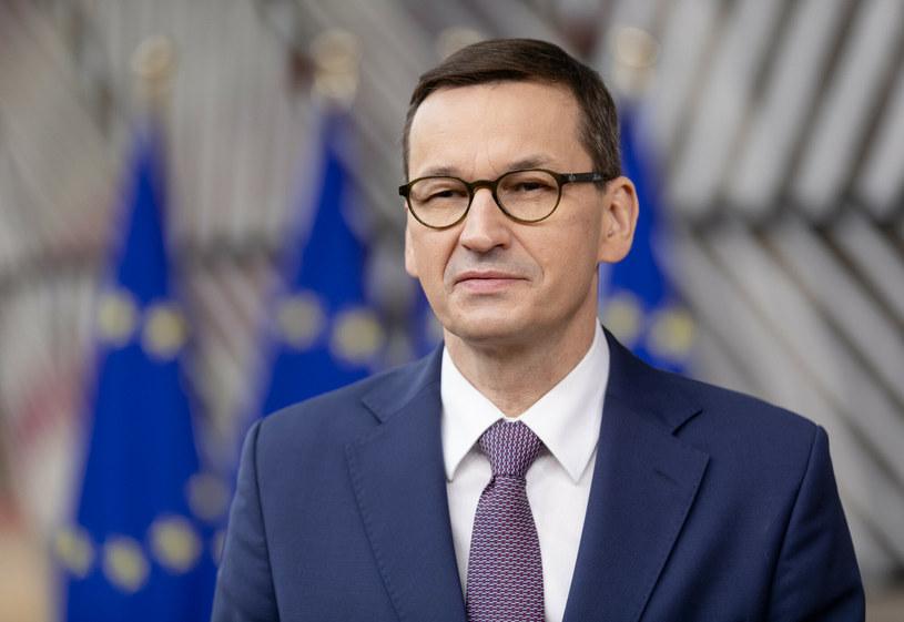 Premier Mateusz Morawiecki /Thierry Monasse /Reporter