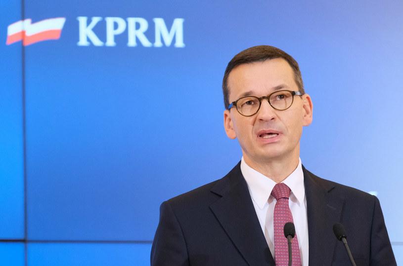 Premier Mateusz Morawiecki /Mateusz Grochocki /East News