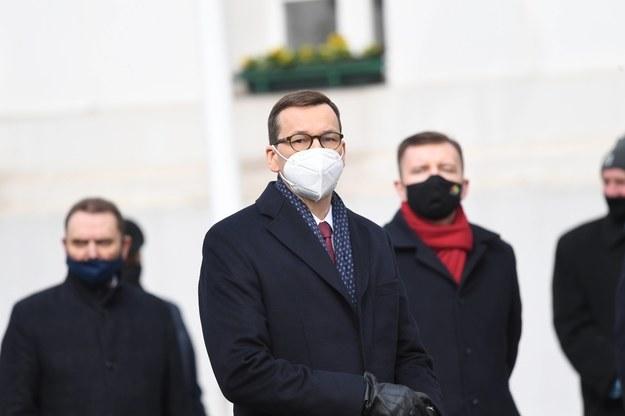 Premier Mateusz Morawiecki / Tytus Żmijewski    /PAP