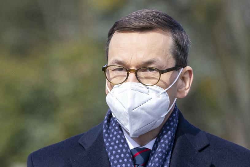 Premier Mateusz Morawiecki /Andrzej Iwańczuk /East News