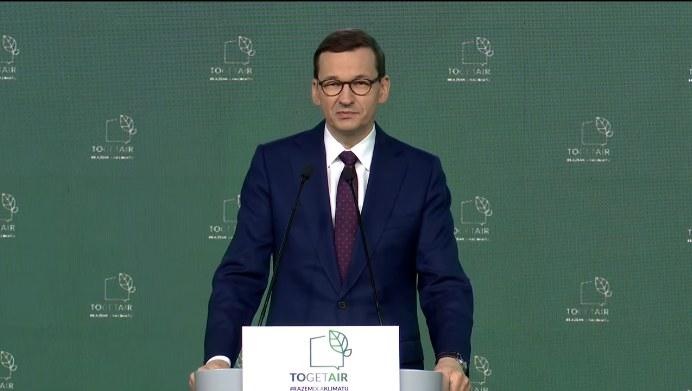 Premier Mateusz Morawiecki /