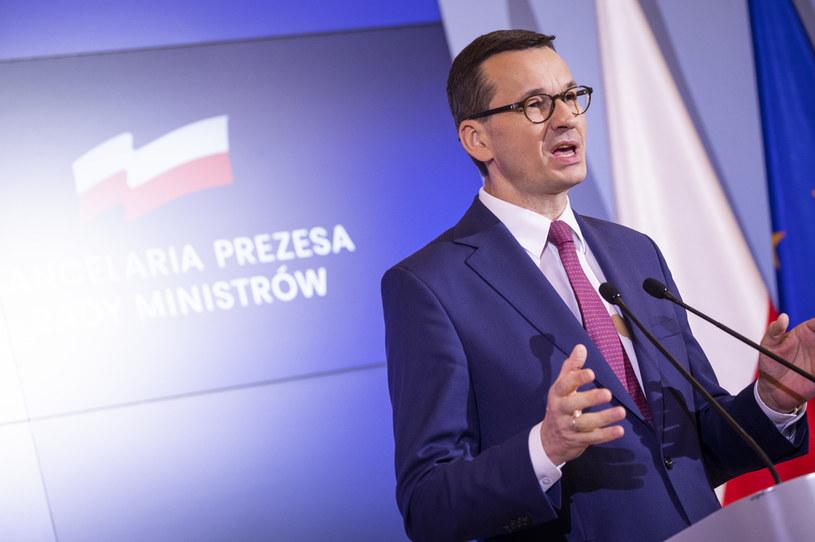 Premier Mateusz Morawiecki /Jaap Arriens/NurPhoto via Getty Images /Getty Images