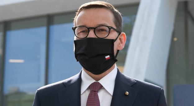 Premier Mateusz Morawiecki /Mateusz Marek /PAP