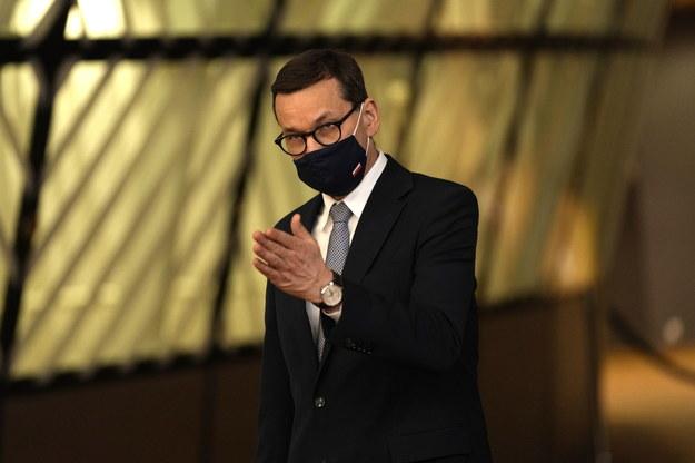 Premier Mateusz Morawiecki /Francsico Seco / POOL /PAP/EPA