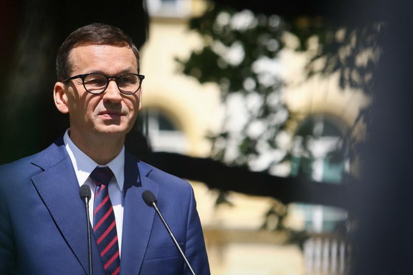 Premier Mateusz Morawiecki /Tomasz Jastrzębowski /Reporter