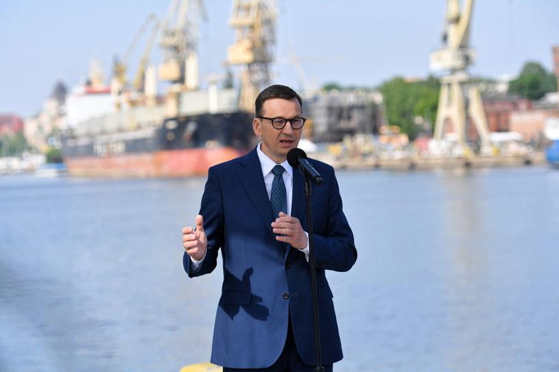 Premier Mateusz Morawiecki /Marcin Bielecki /PAP