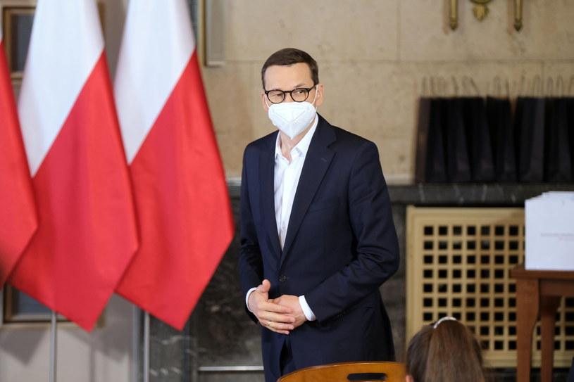 Premier Mateusz Morawiecki /PAP/Hanna Bardo /PAP