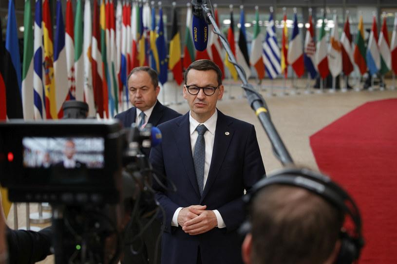 Premier Mateusz Morawiecki /Pool AP/Associated Press/East News /East News