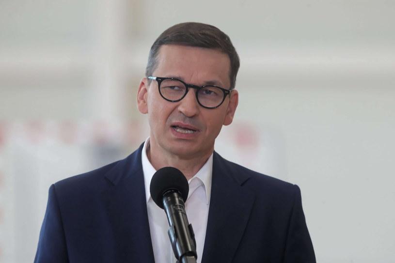 Premier Mateusz Morawiecki /Roman Zawistowski /PAP