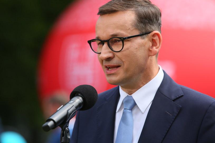 Premier Mateusz Morawiecki /Tomasz Wojtasik /PAP
