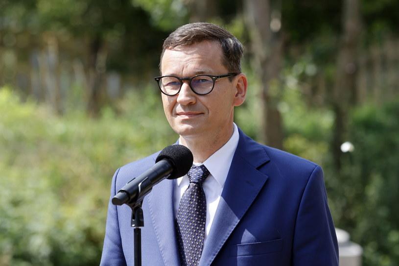 Premier Mateusz Morawiecki /Waldemar Deska /PAP