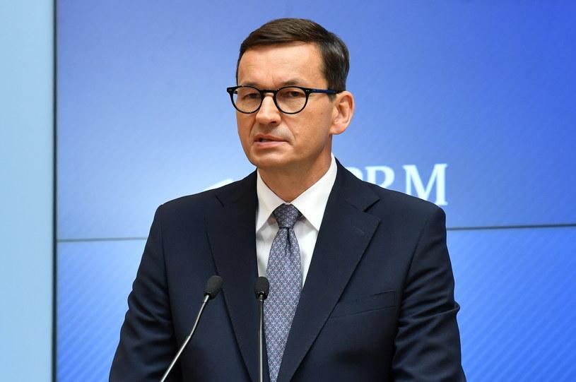 Premier Mateusz Morawiecki /Radek Piertuszka /PAP