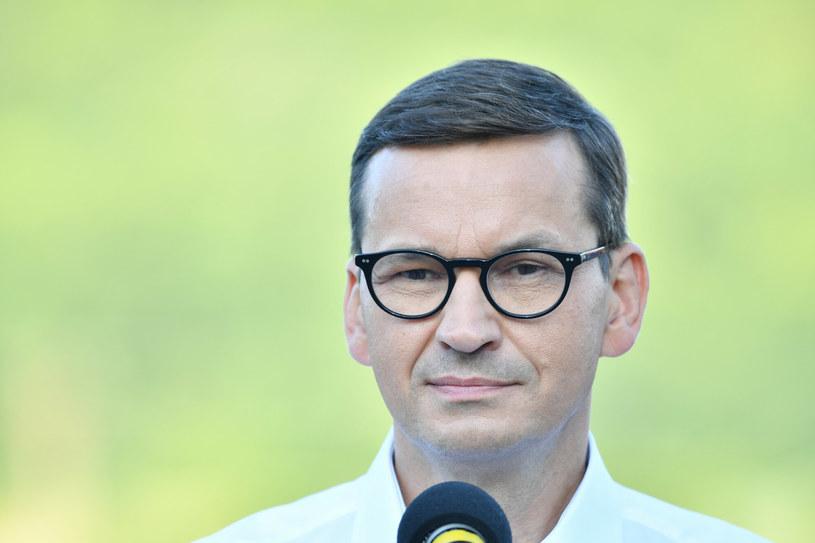 Premier Mateusz Morawiecki /Wojciech Strozyk/REPORTER /East News