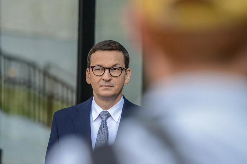 Premier Mateusz Morawiecki /Michał Dubiel /Reporter