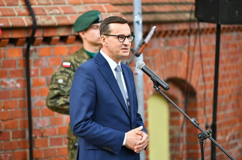 Premier Mateusz Morawiecki /Maciej Kulczyński /PAP