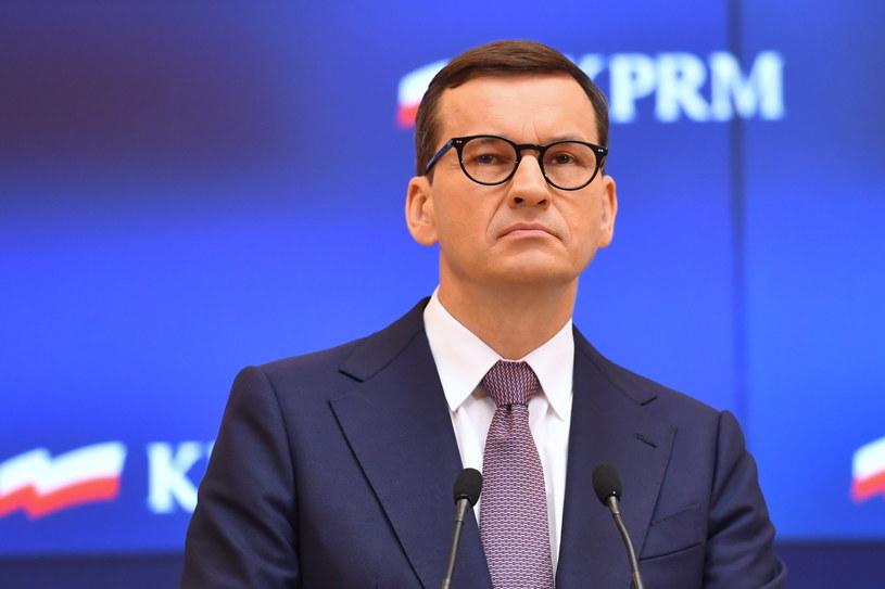 Premier Mateusz Morawiecki /Piotr Nowak /PAP