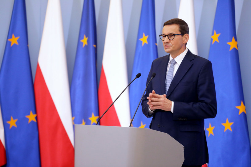 Premier Mateusz Morawiecki /Jakub Kamiński   /East News