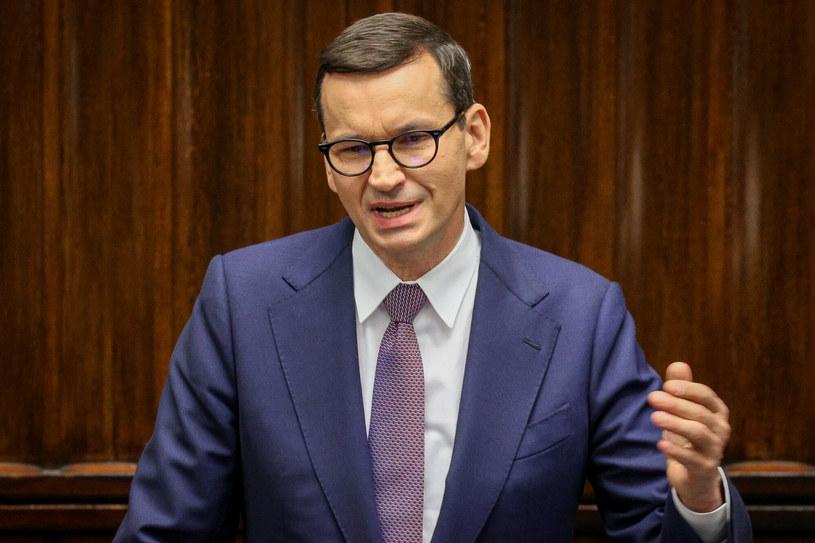 Premier Mateusz Morawiecki /Jacek Dominski/REPORTER /Reporter