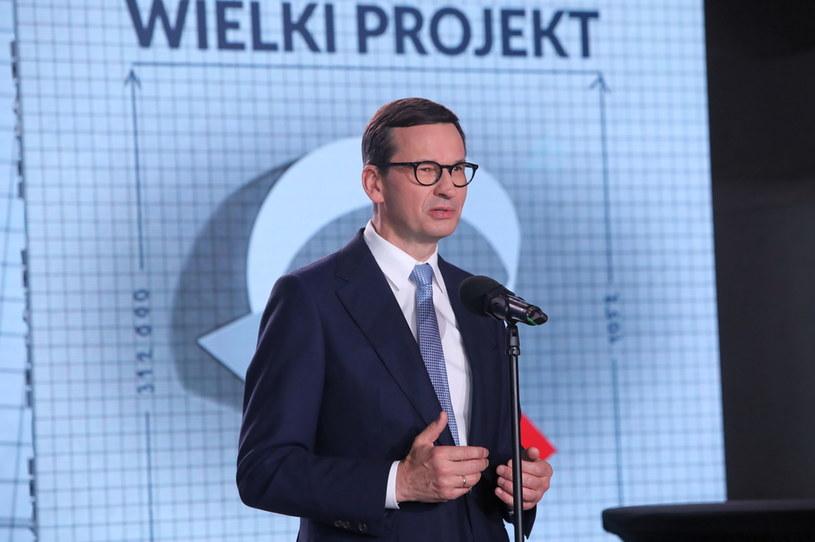 Premier Mateusz Morawiecki /PAP/Wojciech Olkuśnik /PAP/EPA