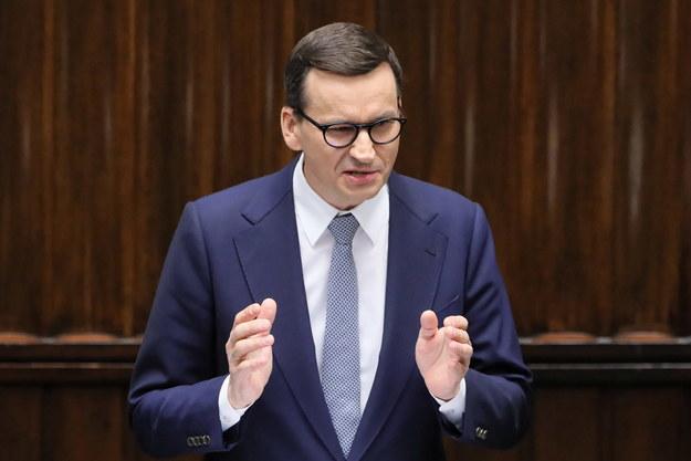 Premier Mateusz Morawiecki / Paweł Supernak   /PAP