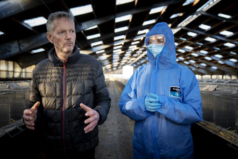 Premier Mette Frederiksen odwiedziła fermę norek /MADS NISSEN / RITZAU SCANPIX / AFP /AFP