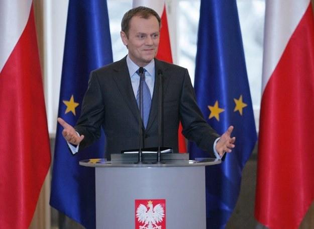 """Premier:""""Miałem szczęście, że w moim życiu pojawiały się wspaniałe kobiety""""/fot. Piotr Kowalczyk /Agencja SE/East News"""