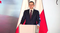 """Premier Morawiecki na gali programu stypendialnego """"100 na 100"""""""