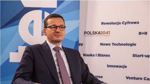 Premier Morawiecki o priorytetach rządu