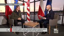 """Premier Morawiecki w """"Gościu Wydarzeń"""" o uchodźcach: Te osoby są na terytorium Białorusi"""