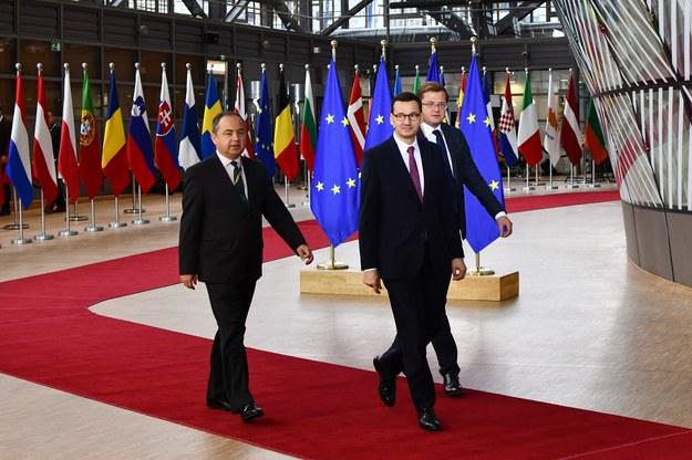 Premier Morawiecki w Brukseli. Zdjęcie archiwalne /RMF FM