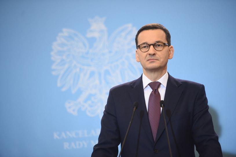 Premier Morawiecki /Zbyszek Kaczmarek /Reporter