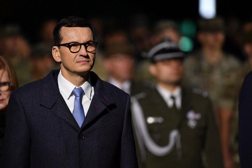 Premier na Westerplatte /Wojciech Stróżyk /Reporter