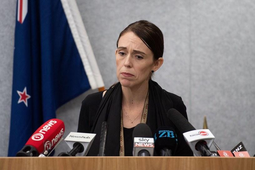 Premier Nowej Zelandii Jacinda Ardern /OFFICE OF PRIME MINITER NEW ZEAL MARTY MELVILLE /AFP