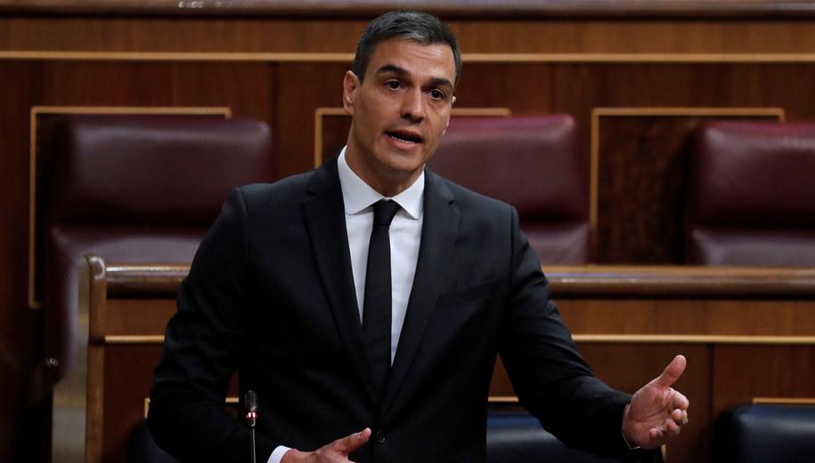 Premier Pedro Sanchez /Chema Moya /PAP/EPA