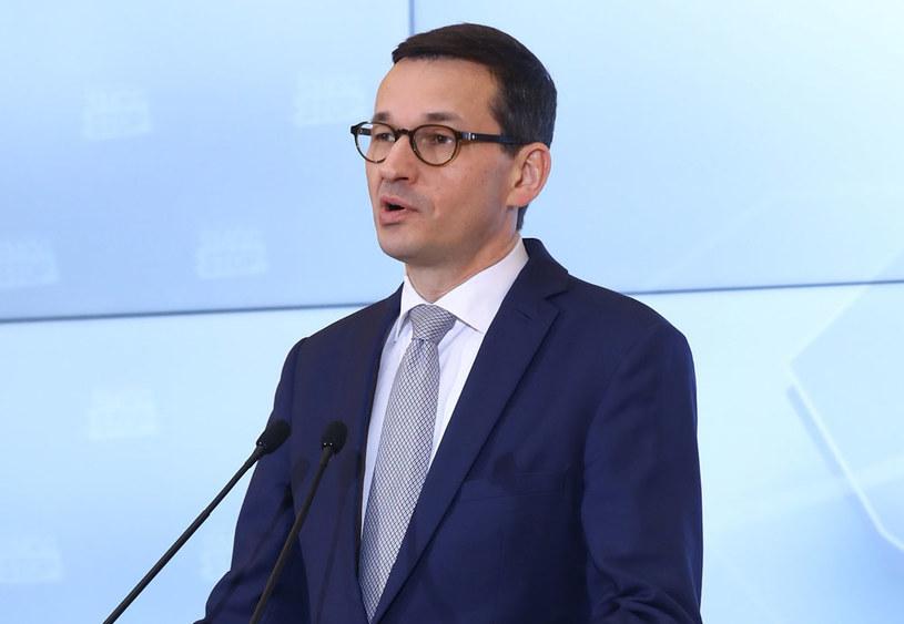 Premier Polski Mateusz Morawiecki /Rafał Guz   /PAP