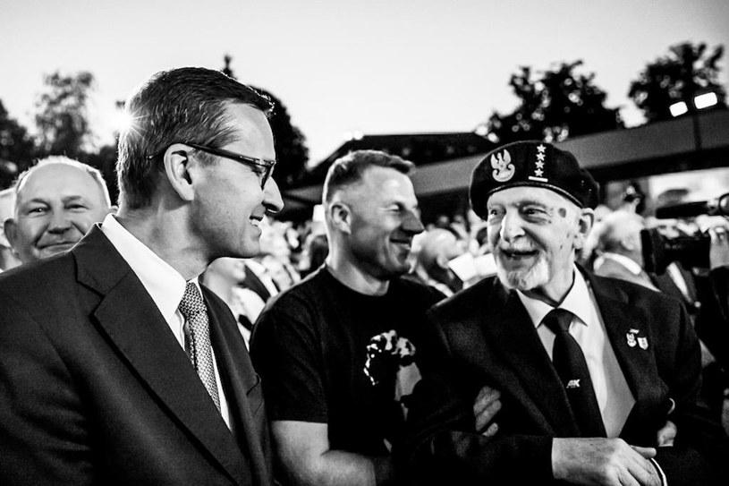 Premier pożegnał weterana AK /Mateusz Morawiecki /Twitter