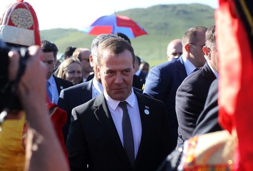 Premier Rosji Dmitri Miedwiediew /STANISLAW KOWALCZUK /East News